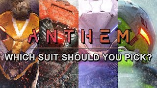 Anthem | Helping you choose which Javelin to play