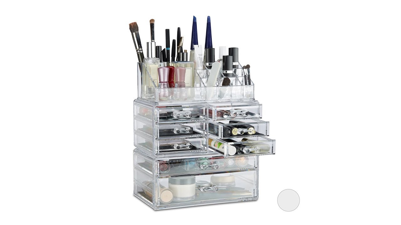 Video von: Make Up Organizer mit 8 Schubladen