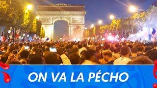 "Mondial 2018 : La France en finale, ensemble ""on va la pécho"""