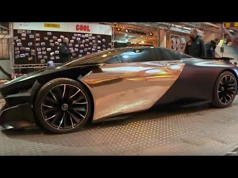 Peugeot ONYX | Behind the scenes | Top Gear