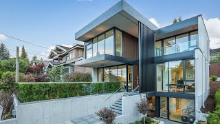 Architectural Perfection & Modern Design | West Vancouver Luxury Living