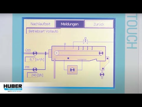Video: HUBER Belt Thickener DrainBelt - here at a municipal WWTP