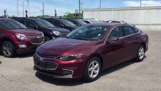 2016 Chevrolet Malibu 4dr Sdn LS 1LS Butte Red Metallic Roy Nichols Chevrolet Courtice ON