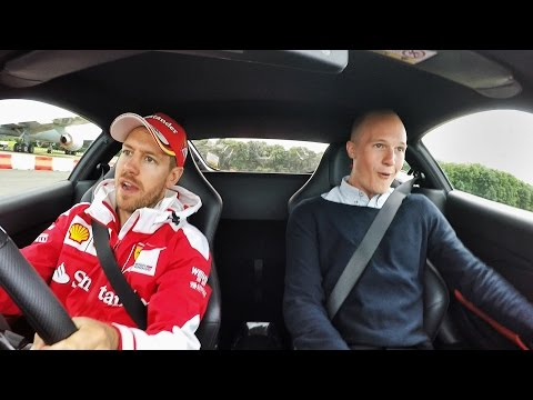 175mph with Sebastian Vettel