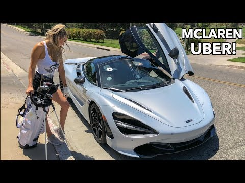 Picking Up UBER Riders In A Mclaren!