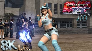 Tekken Tag Tournament HD | Jun and Unknown | Arcade Mode | rpcs3 [ps3] 8K I.R. Gameplay.