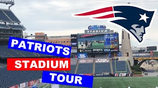 New England Patriots Gillette Stadium Tour & 11 Tagged Questions