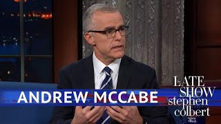 Andrew McCabe Had Robert Mueller As A Boss