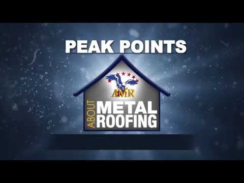 """American Metal Roofs presents """"Peak Points"""" about Metal Roofing – Do-It-Yourself"""
