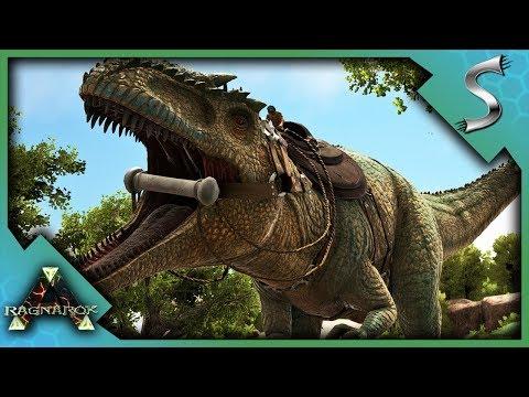 SOLO GIGANOTOSAURUS TRAP TAME! - Ark: RAGNAROK [DLC Gameplay E76]
