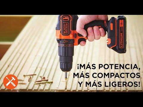 Taladros Percutores con batería de litio | BLACK+DECKER™