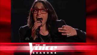 """Michelle Chamuel: """"Call Your Girlfriend"""" - The Voice S04 Live Top 12 Performance"""