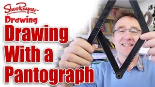 How to draw bigger and smaller with a pantograph