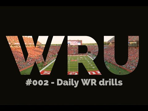 Daily Wide Receiver drills! - WRU #002 - YouTube
