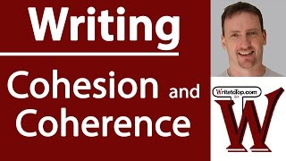 Cohesion &  Coherence in Essay Writing