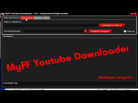 MyFF Youtube Downloader download | SourceForge net