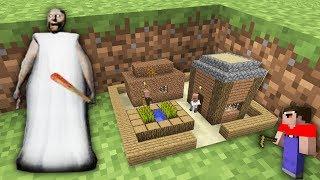 Мир УМЕНЬШИЛСЯ нуб в 1 блок и Гренни в Майнкрафт! Как найти Самую маленькую деревню !