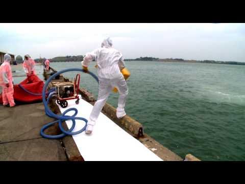 臺南市105年度毒性化學物質聯防組織災害防救暨空氣污染監測演練