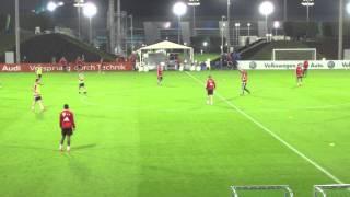 FC Bayern Team Training Tactical Session Doha 2014 - 2