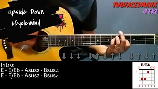 Upside Down - 6Cyclemind (Guitar Cover With Lyrics & Chords)