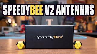 SPEEDYBEE V2 FPV ANTENNAS - RHCP 2.8dbi - FOR ANALOG - DJI - SHARK BYTE