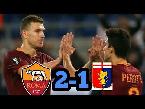 Roma vs Genoa 2-1 All goal snd highlight 48-4-2018.