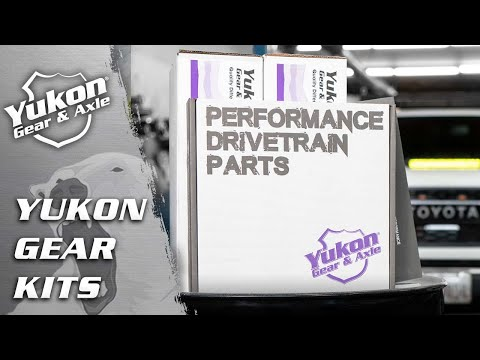 Yukon Complete Thick Gear and Kit Pakage for F250 and F350 Dana 60 Thick, with 4:88 Gear Ratio