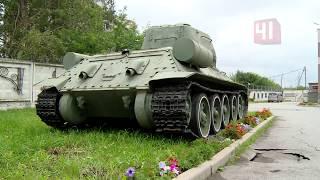 Угнали танк из парка Победы