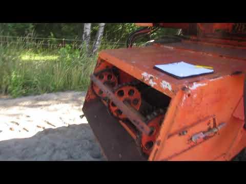 Video: Dronningborg DB 2500 mejetærsker 1