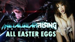 Metal Gear Rising: Revengeance Easter Eggs And Secrets HD