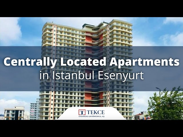 Delightful Istanbul Apartments for Sale Close to the Social Life