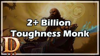 [Diablo 3] 2+ Billion Toughness Monk Build