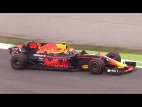 2017 Red Bull RB13-Renault in action at the Italian GP