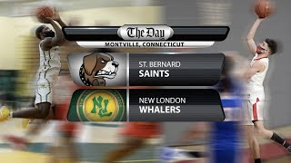 Full replay: New London at St. Bernard boys' basketball