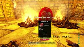 Hatch a t rex egg lets play ark survival evolved single player rex egg hatching ark survival evolved ps4 malvernweather Image collections