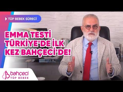 Emma Testi Türkiye'de ilk defa Bahçeci 'de