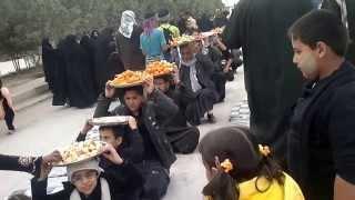 preview picture of video 'موكب طريق كربلاء - الناصرية - العراق -aljfaily'