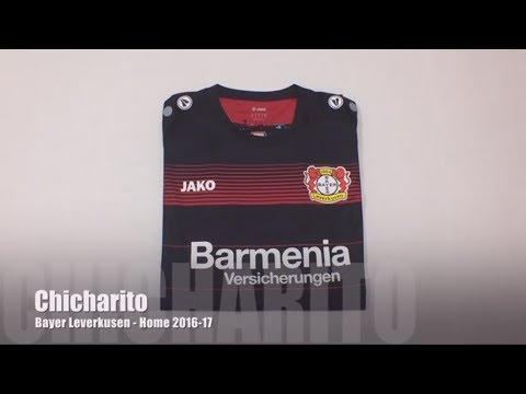 Bayer Leverkusen Home Jersey 2016-17 (Local) - Chicharito