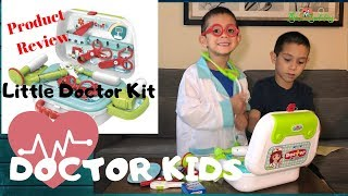Doctor Kids | Little Doctor Kit | Product Review | TheSciBuddies #DoctorKids #PretendnPlay