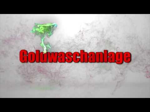 Goldwaschanlage