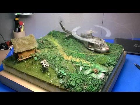 diorama huey vietnam(em construçao)