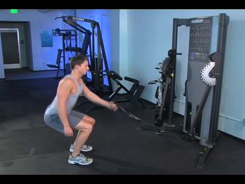 Single Cable Squat and Row