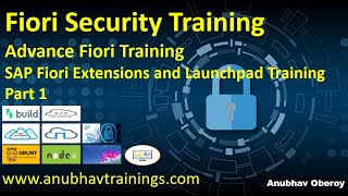 Part 1 End to end SAP Fiori Security Training | Fiori Launchpad Guide