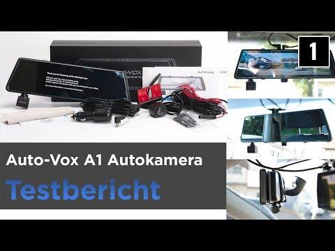 Auto-Vox A1 im Test - Dashcam/Autokamera, Rückspiegel mit Kamera und Rückfahrkamera (1)