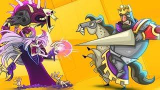 Открываем злобный портал 👻 💀 ☠️ Tower Conquest Мульт игра для детей про БОИ и СРАЖЕНИЯ на Арене