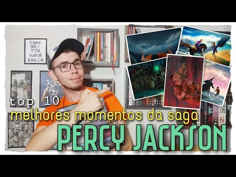 TOP 10: Os Melhores Momentos da Saga Percy Jackson