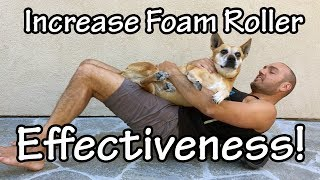 Increase the Effectiveness of your Foam Roller! #MedaxWeightFitness