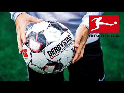 Der NEUE BUNDESLIGA BALL ! DERBYSTAR BALL Test