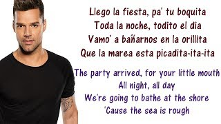 Ricky Martin - La Mordidita Lyrics English and Spanish - ft. Yotuel - Translation & Meaning