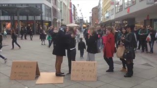 Blind Muslim Trust Experiment - Germany , Saarbrücken